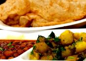 North Indian Breakfast Menu